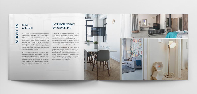 Manor - vnitřní stránky katalogu